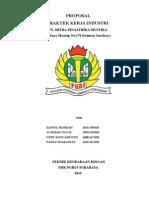 Proposal Parakerin SMK PGRI 5 Surabaya