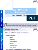 9  skill related fitness