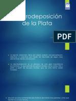 Electrodeposición de La Plata