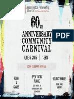 Carnival Warrington Fellowship Church