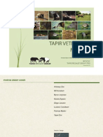 Tapir Veterinary Manual 2014 Optimized