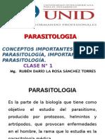 Parasitologia 2015 - i Unid - Clase 1
