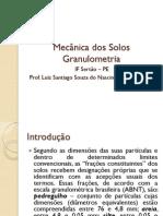 Mecânica Dos Solos - Granulometria