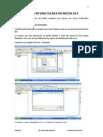 Delimitar Una Cuenca en ArcGIS 10.0