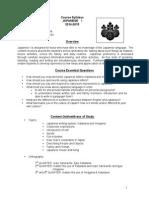 jpn 1 course syllabus 2014-15