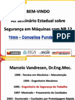 Palestra Dr. Eng. Mec. Marcelo Vandresen