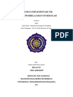 Paper Strategi Implementasi Tik Dalam Pembelajaran Disekolah