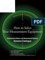 Measurement Selection Guide