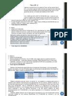 Contabilidad II - Clase 6 - Resolución Taller II