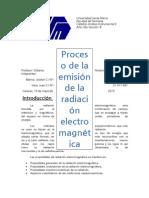Emisión de la radiación electromagnética