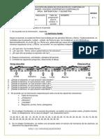 Taller de Preparacion Para La Sintesis Grado 4 -2 Periodo