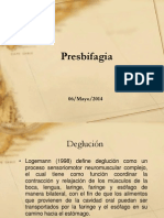 13 Presbifagia