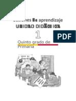 Primaria Sesiones Comunicacion Quintogrado Orientaciones Para La Planificacion Unidad01 5grado