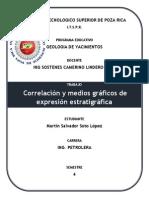 Correlación y Medios Gráficos de Expresión Estratigráfica