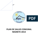 CESFAM Yanequen (2013) Informe Epidemiologico