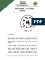 Página Web SEDES - Zoonosis Nuevo