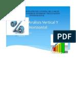 Como Hacer Analisis Vertica y Horizontal