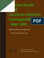 ScholemG-CorrespondenceWithMortonSmith1945-1982brill2008