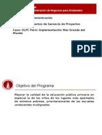 OLPC- Implementación Más Grande Del Perú
