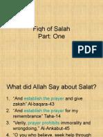 Fiqh of Salah Part 1