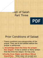 Fiqh of Salah Part 3