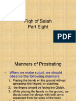 Fiqh of Salah Part 8
