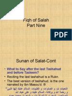 Fiqh of Salah Part 9