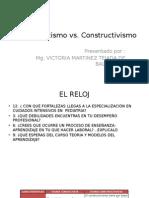 Conductismo vs Const. y Teorias Del Aprend.