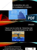 Corte Europea de Los Derechos Humanos (Coedh