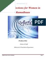 10 Reflections for Women in Ramadan