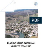 CESFAM Yanequen (2013) Plan Salud Comunal 2014-2015