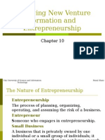 Chapter 10 Managing New Venture Formation and Entrepreneurship.ppt
