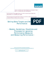 How to Set Sales Target