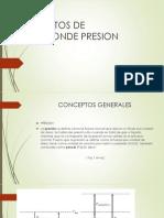 Elementos de Medicion de presion