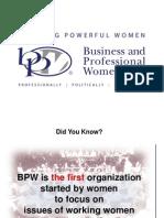 bpw history presentation