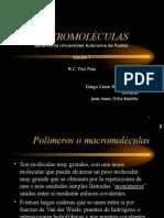 Macromoléculas FQ III