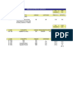 Presupuesto DE PARTIDAS DE UNA CASA HABITACION