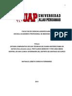 Estudio Comparativo de Dos Técnicas de Ovario Histerectomía en Gatas -Tesis Completa