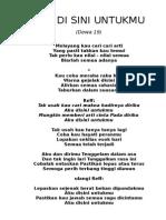 Lirik Dewa