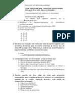Examen de Pediatria