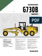 MOTONIVELADORA - G730