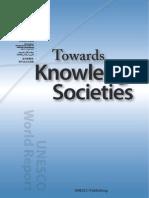 Towards Knowledge Societies UNESCO