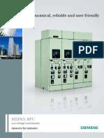 Siepan 8PU - LV Switchboards