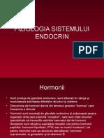 2. Fiziologia Sistemului Endocrin