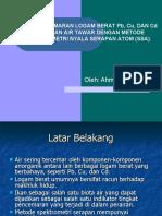 Analisis Cemaran Logam Berat