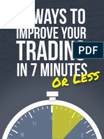 15 Way to Improve Your Trading in 7 Minutes or Less