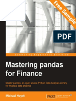 Mastering pandas for Finance - Sample Chapter