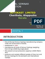 Industrial Seminar Presentation