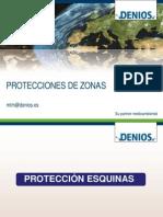 Protecciones de Zonas en lugares de trabajo