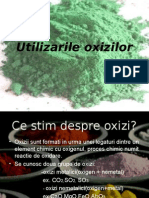 3 utilizarile oxizilor